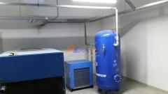 Поставка компрессоров на 90 кВт на строящийся завод